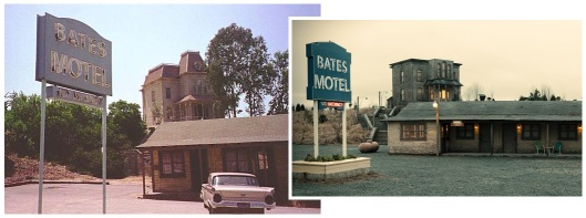 Bates Motel sets